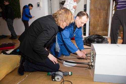 Het energiecafe010 weer druk bezocht (2016)