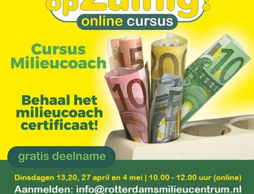 Cursus Milieucoach (online)